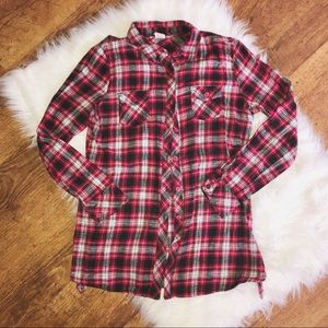 Red/Black Flannel Shirt